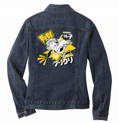 Flcl Ladies Denim Jacket Designed By Paísdelasmáquinas
