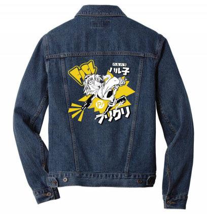 Flcl Men Denim Jacket Designed By Paísdelasmáquinas