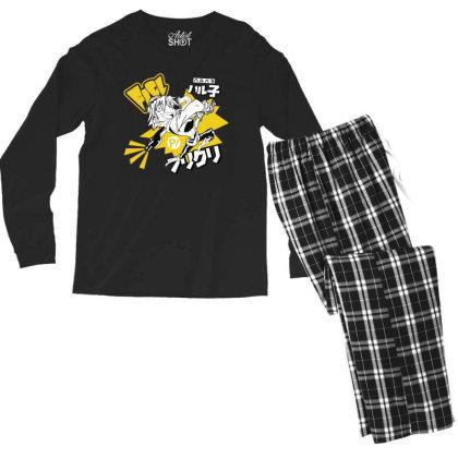 Flcl Men's Long Sleeve Pajama Set Designed By Paísdelasmáquinas