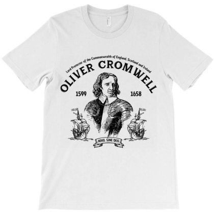 Oliver Cromwell Commonwealth T-shirt Designed By Designisfun