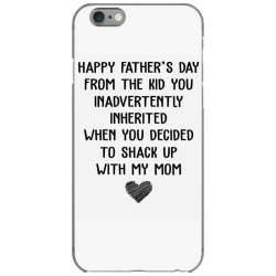 happy father's day from the kid you inavertently when you decided to s iPhone 6/6s Case   Artistshot