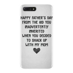 happy father's day from the kid you inavertently when you decided to s iPhone 7 Plus Case   Artistshot