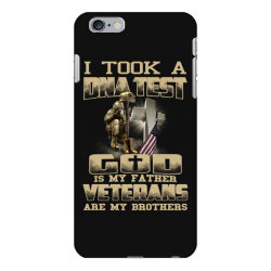 i took a dna test god is my father veterans are my brothers iPhone 6 Plus/6s Plus Case | Artistshot