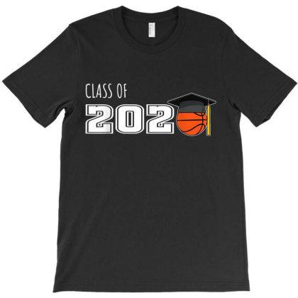 Class Of 2020 Basketball Senior Players Graduation Gift T-shirt Designed By Vanitty
