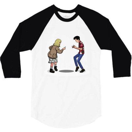 Pulp F***! 3/4 Sleeve Shirt Designed By Raffiti