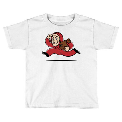 Bella Ciao City! Toddler T-shirt Designed By Raffiti