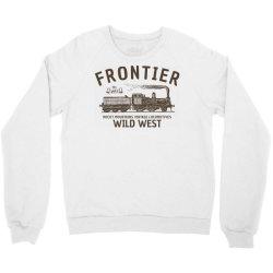 wild west locomotive Crewneck Sweatshirt | Artistshot