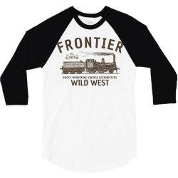 wild west locomotive 3/4 Sleeve Shirt | Artistshot