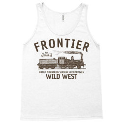 wild west locomotive Tank Top | Artistshot