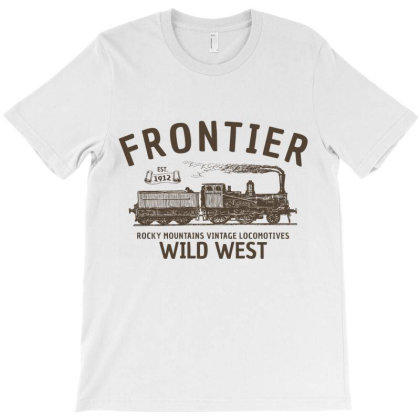 Wild West Locomotive T-shirt Designed By Designisfun