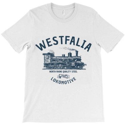 Westfalia Westfalen Lokomotive Train T-shirt Designed By Designisfun