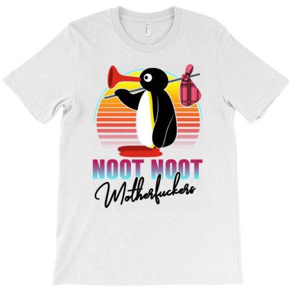 Noot Noot Motherfuckers Retro T-shirt Designed By Honeysuckle