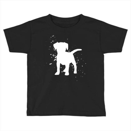 Puppy - Graphic Fashion Toddler T-shirt Designed By Word Power