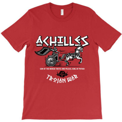 Achilles Greece War Hero T-shirt Designed By Designisfun