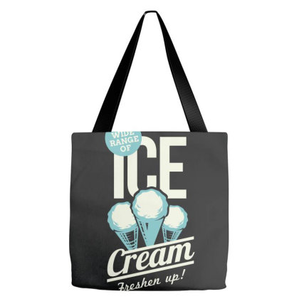 Ice Cream, Freshen Up Tote Bags Designed By Estore