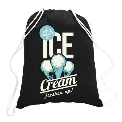 Ice Cream, Freshen Up Drawstring Bags Designed By Estore