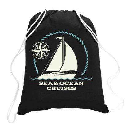 Sea And Ocean Cruises Drawstring Bags Designed By Estore