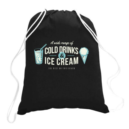 A Wide Range Of Cold Drinks And Ice Cream Drawstring Bags Designed By Estore
