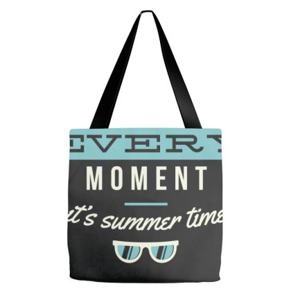 Enjoy Every Moment It Is Summer Time Tote Bags Designed By Estore