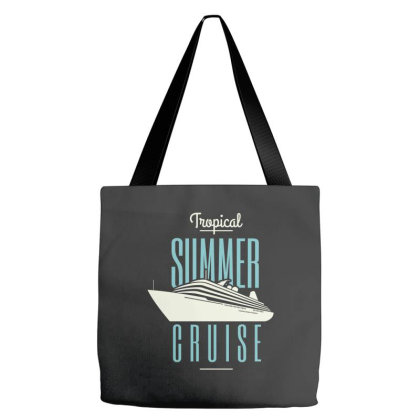 Tropical Summer Cruise Tote Bags Designed By Estore