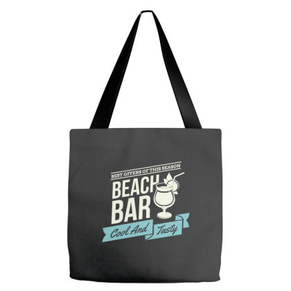Best Offers Of The Season, Beach Bar, Cool And Tasty Tote Bags Designed By Estore