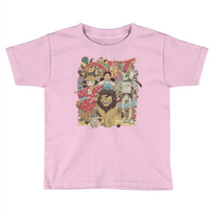 Road To Oz Toddler T-shirt Designed By Saqman