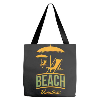 Beach Vacation Tote Bags Designed By Estore