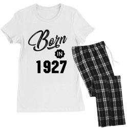 Born in 1927 Women's Pajamas Set | Artistshot