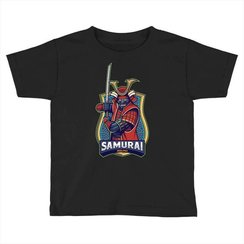 Samurai Toddler T-shirt | Artistshot