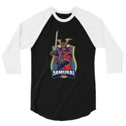 Samurai 3/4 Sleeve Shirt | Artistshot
