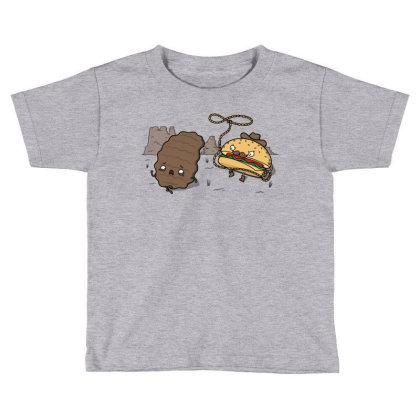 Burgerboy! Toddler T-shirt Designed By Raffiti