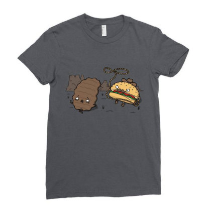 Burgerboy! Ladies Fitted T-shirt Designed By Raffiti