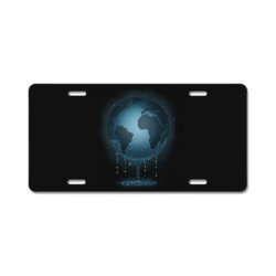 Water for Life License Plate | Artistshot