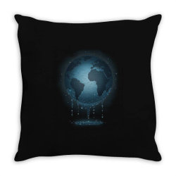 Water for Life Throw Pillow | Artistshot