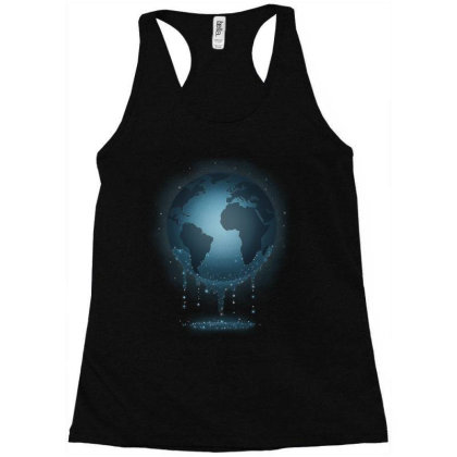 Water For Life Racerback Tank Designed By Saqman