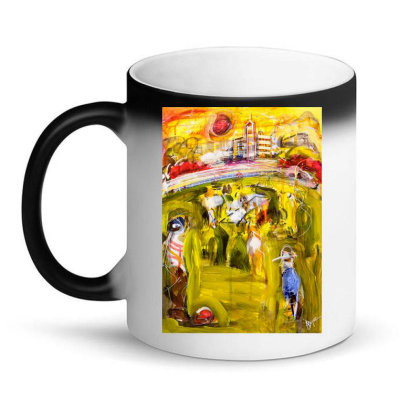 Down At Wittonga Park   T Shirt Magic Mug Designed By Coolkids