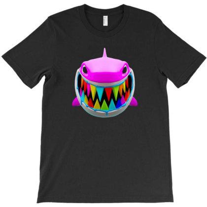 Gooba Shark T-shirt Designed By Felicity