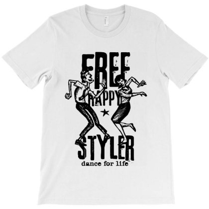 Free Styler Dance Freestyler T-shirt Designed By Designisfun