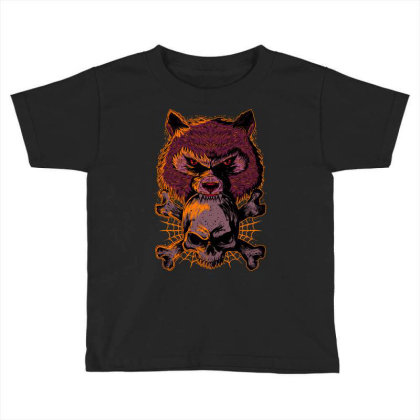 Fearless Toddler T-shirt Designed By Kranxdesign