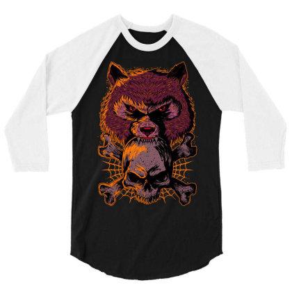 Fearless 3/4 Sleeve Shirt Designed By Kranxdesign