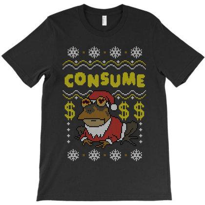 Consume! T-shirt Designed By Raffiti