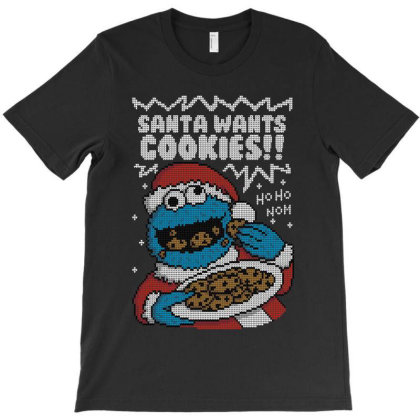 Santa's Cookies! T-shirt Designed By Raffiti