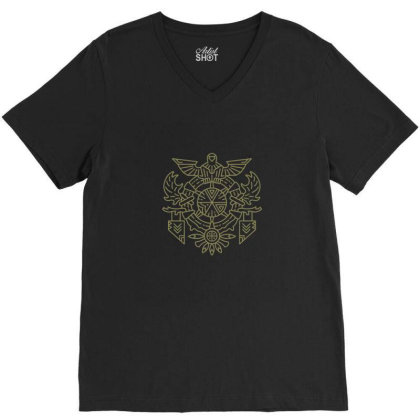 On Mountains High V-neck Tee Designed By Blackstone