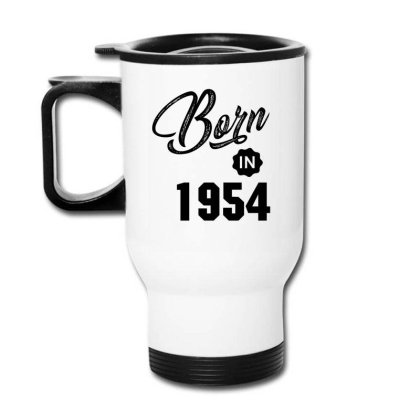 Born In 1954 Travel Mug Designed By Chris Ceconello
