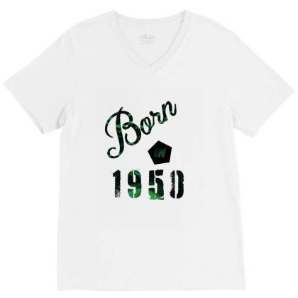 Born In 1950 V-neck Tee Designed By Bettercallsaul