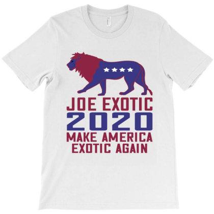 Joe Exotic 2020 Make America Exotic Again T-shirt Designed By Faical