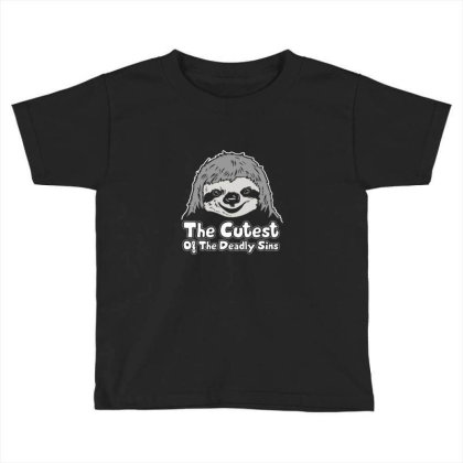 Sloth The Cutest Of The Deadly Sins Toddler T-shirt Designed By Gaya