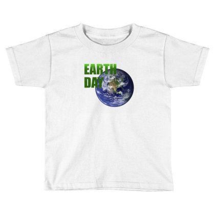Earth Day Toddler T-shirt Designed By Mircus