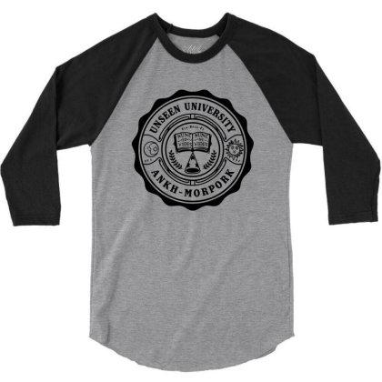 University Of Magic 3/4 Sleeve Shirt Designed By Olipop