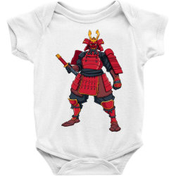 Samurai, ninja, skull Baby Bodysuit | Artistshot